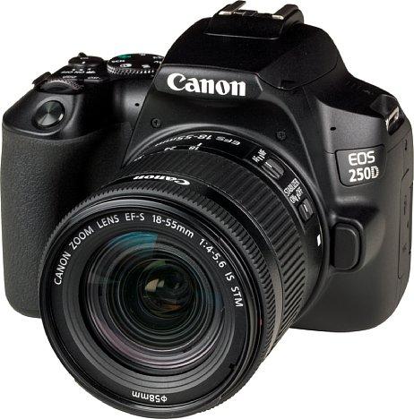 Bild Die Canon EOS 250D beherrscht nun 4K-Videoaufnahmen. [Foto: MediaNord]
