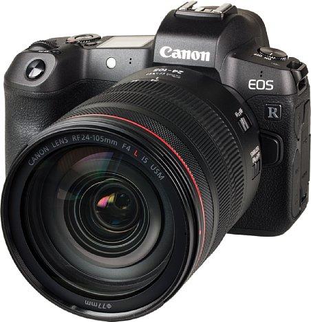Bild Die Canon EOS R ist die erste spiegellose Vollformat-Systemkamera des DSLR-Marktführers. [Foto: MediaNord]