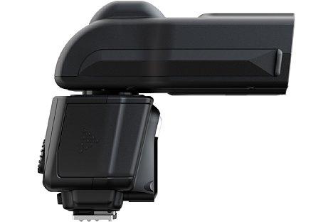 Bild Der Fujifilm EF-60 besitzt einen großen Zoomreflektor von 24-200 Millimeter Brennweite. [Foto: Fujifilm]