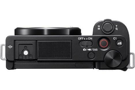 Bild Wie die ZV-1 besitzt auch die Sony ZV-E10 ein Drei-Kapsel-Mikrofon für besonders guten Ton. [Foto: Sony]