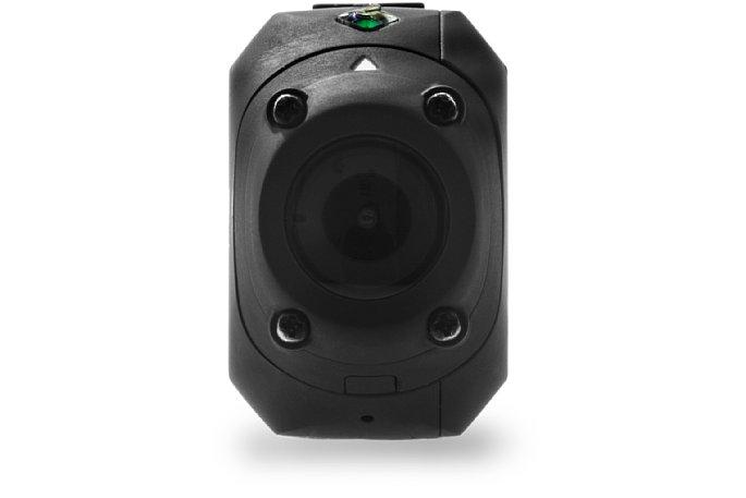 Bild Typisches Merkmal der Kameras von Drift Innovation ist das dehbare Objektiv, hier die Drift Stealth 2 bei Hochkant-Montage, z. B. seitlich an einem Helm ... [Foto: Drift Innovation]