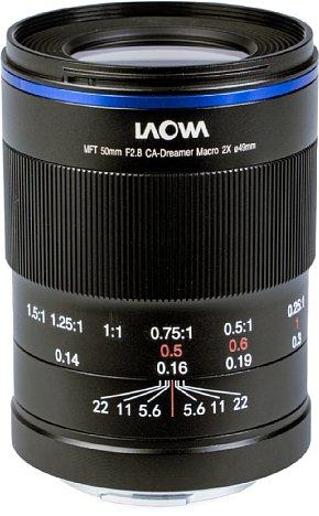 Bild Laowa 50 mm F2,8 2x Ultra Macro Apo. [Foto: MediaNord]