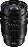 Mit einer Länge von 12,8 und einem Durchmesser von 8,8 Zentimetern sowie einem Gewicht von 690 Gramm ist das Panasonic Leica DG Vario-Summilux 10-25 mm 1.7 (H-X1025) für ein Micro-Four-Thirds-Objektiv ziemlich wuchtig und schwer. [Foto: Panasonic]