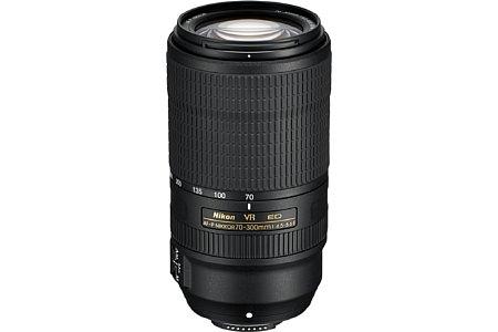 Nikon AF-P 70–300 mm 1:4,5-5,6E ED VR. [Foto: Nikon]