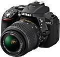 Die neue Nikon D5300 verfügt über eingebautes WLAN sowie ein GPS-Modul. [Foto: Nikon]