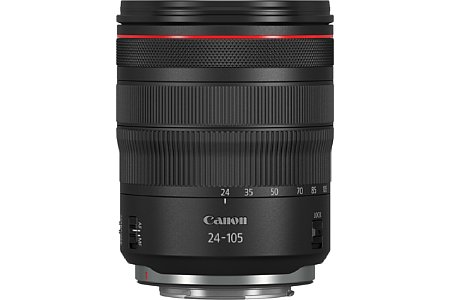 Bild Canon RF 24-105 mm 1:4 L IS USM. [Foto: Canon]