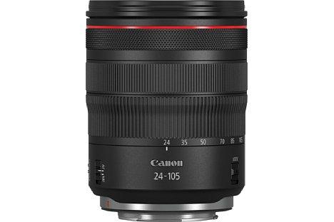Bild Canon RF 24-105 mm 1:4 L IS USM. [Foto: Canon]