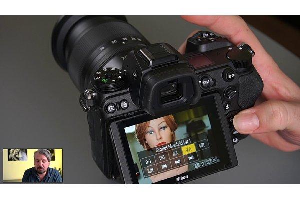 """Bild Manuel Quarta im Schulungs-Videos """"Einstieg ins Nikon Z-System"""", Kapitel """"Perfektes Scharfstellen"""". [Foto: MediaNord]"""