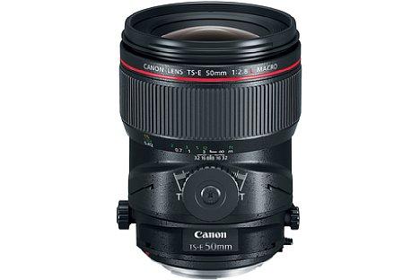 Bild Canon TS-E 50mm 2.8L Macro. [Foto: Canon]