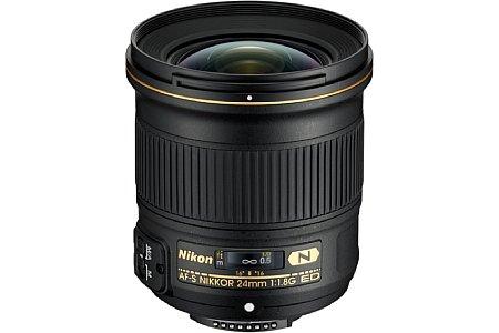 Nikon AF-S 24 mm 1:1,8G ED. [Foto: Nikon]