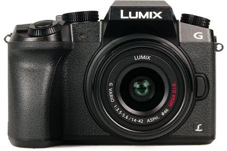 Bild Das Kunststoffgehäuse der Panasonic Lumix DMC-G70 wirkt etwas billig, ist aber dennoch präzise verarbeitet. [Foto: MediaNord]