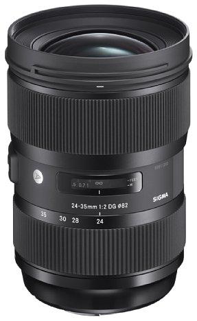 Bild Das Sigma 24-35 mm F2 DG HSM Art will gleich drei lichtstarke Festbrennweiten in sich vereinen und eine mindestens ebenbürtige Bildqualität liefern. [Foto: Sigma]