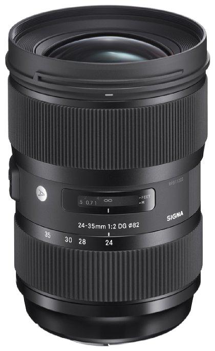 Bild Das 'SIGMA 24-35mm F2 DG HSM | Art' ist das weltweit erste Weitwinkel-Zoom-Objektiv für digitale SLR-Kameras (35-mm-Vollformat-Bildsensor), das die hohe Lichtstärke F2 über den gesamten Brennweitenbereich bietet. [Foto: Sigma]