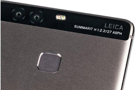Bild Huawei P9 - Rückseite im Detail. [Foto: MediaNord]