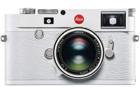 Bild Leica M10-P White mit Summilux-M 1:1.4 50 mm Asph. [Foto: Leica]