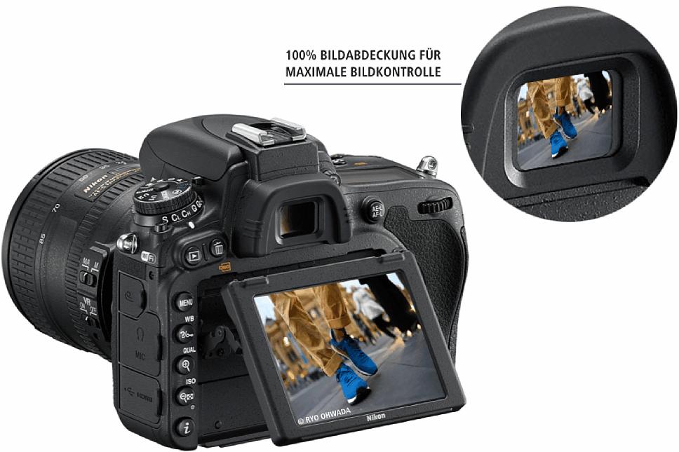 Bild Dank Live-View und optischem Sucher mit jeweils 100 Prozent Bildfeldabdeckung bietet die Nikon D750 eine flexible Bildkontrolle. [Foto: Ryo Ohwada]