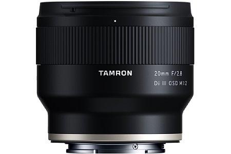 Tamron 20 mm F2.8 Di III OSD M1:2 (F050). [Foto: Tamron]