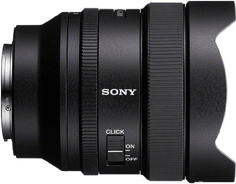 Bild Der Blendenring des Sony FE 14 mm F1.8 GM (SEL14F18GM) lässt sich stufenlos und klickfrei umschalten. [Foto: Sony]