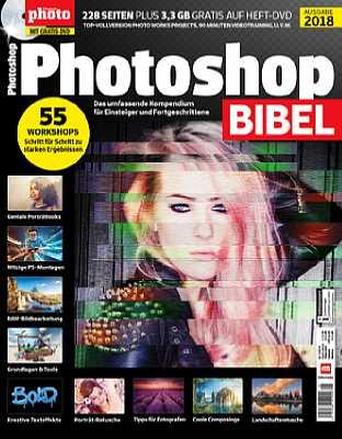 PhotoshopBibel 2018. [Foto: Falkemedia]