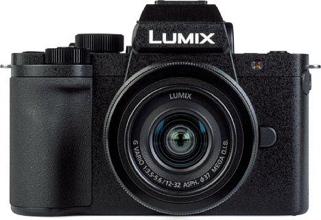 Bild Das Gehäuse der Panasonic Lumix DC-G110 besteht zwar lediglich aus Kunststoff, dieser fühlt sich aber hochwertig an und ist sehr gut verarbeitet. [Foto: MediaNord]